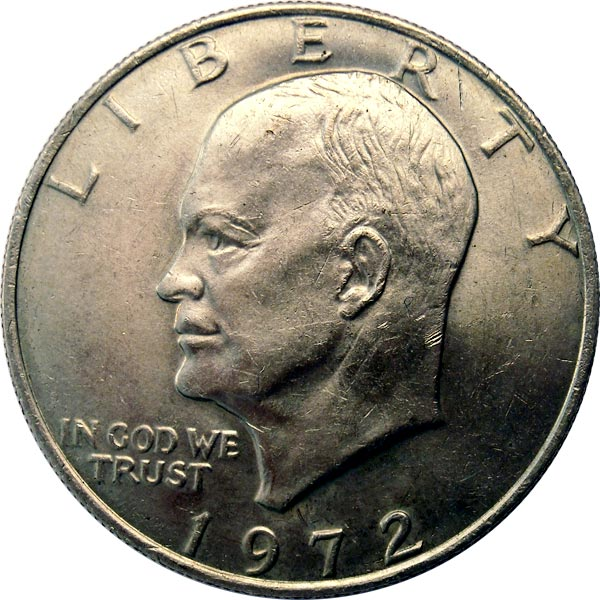 How Much Is A 1972 Us Silver Dollar Worth For Sale